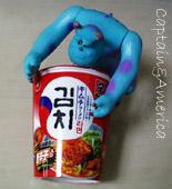 匂いたつ韓国のキムチが食べたい。