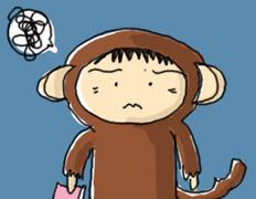頭が猿状態